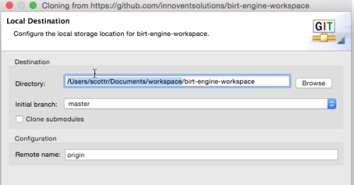 Birt-engine-workspace-dir_location